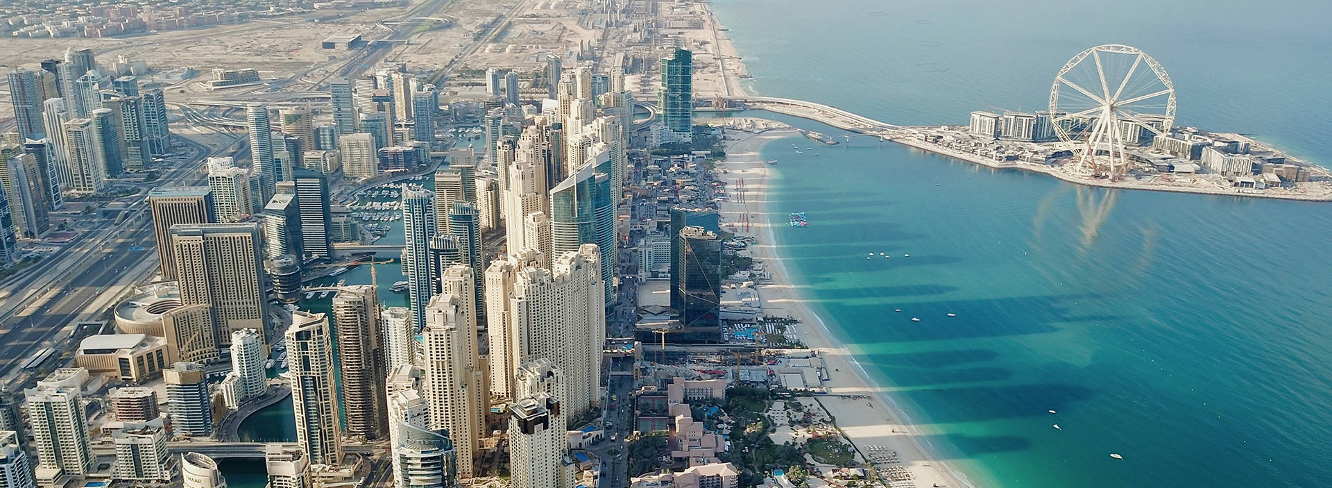 JBR drone one view