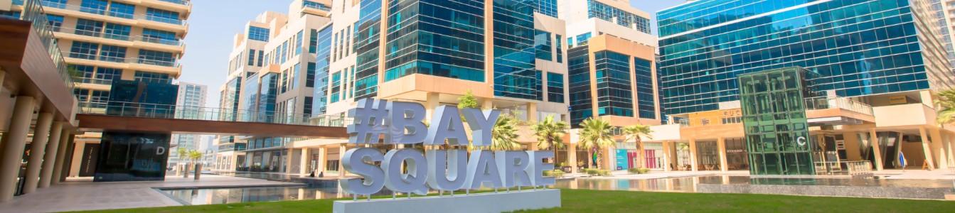Bay Square Hash Tag