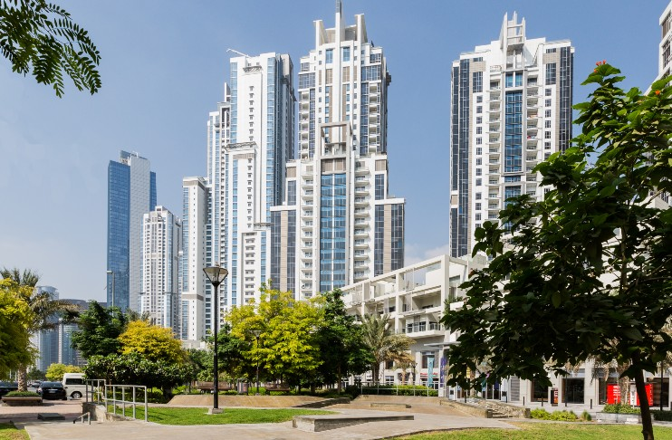 Bay Square buildings