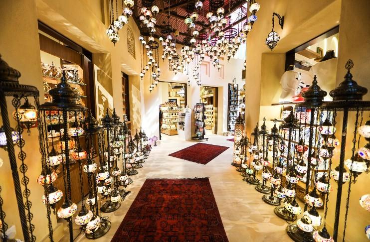 Souk Madinat Jumeirah indoor market